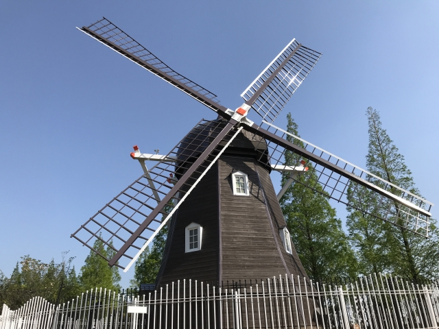 安城産業文化公園デンパークの風車